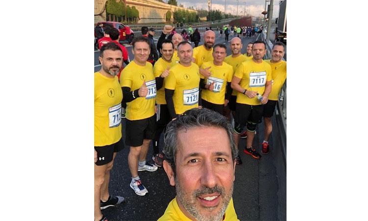 ZİNDE, Vodafone 40. İstanbul Maratonu'nda
